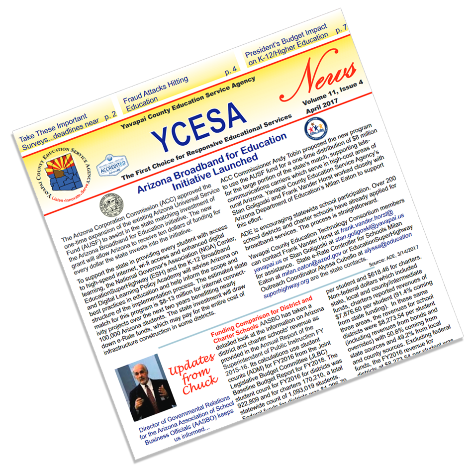 Yavapai County Education Service Agency - newsletter