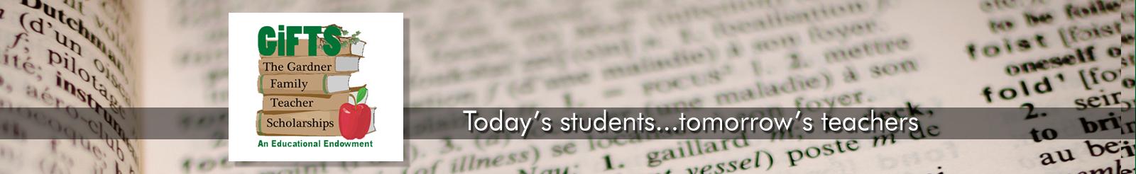 The Gardner Family Teacher Scholarship - YCESA